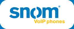 snom SIP based IP phones